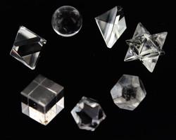 Crystal Sacred Geometry Set