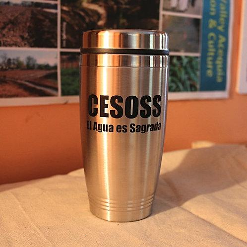 CESOSS Mug: El Agua es Sagrada