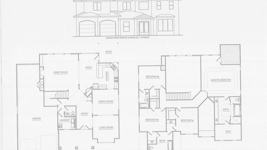 Zirbes Drafting and Design Blueprint - Title
