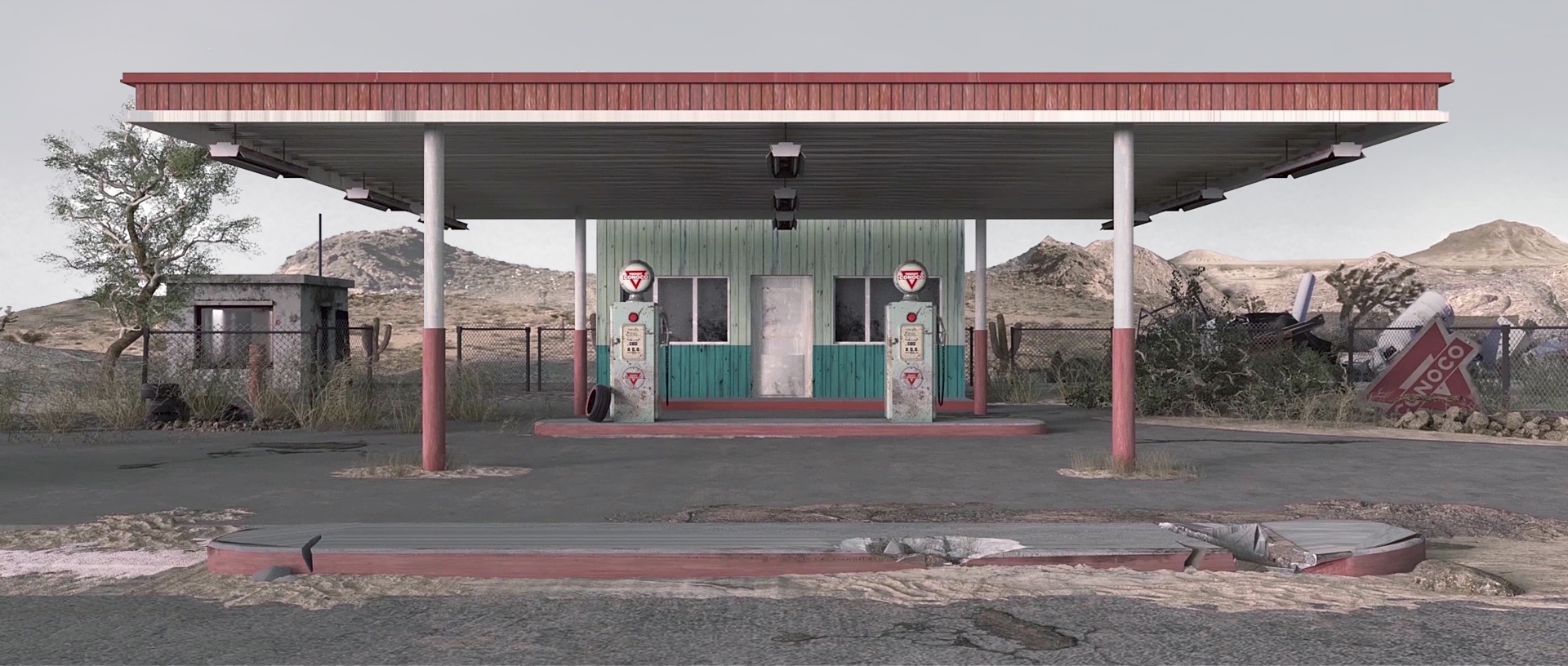 Conoco Gas Station