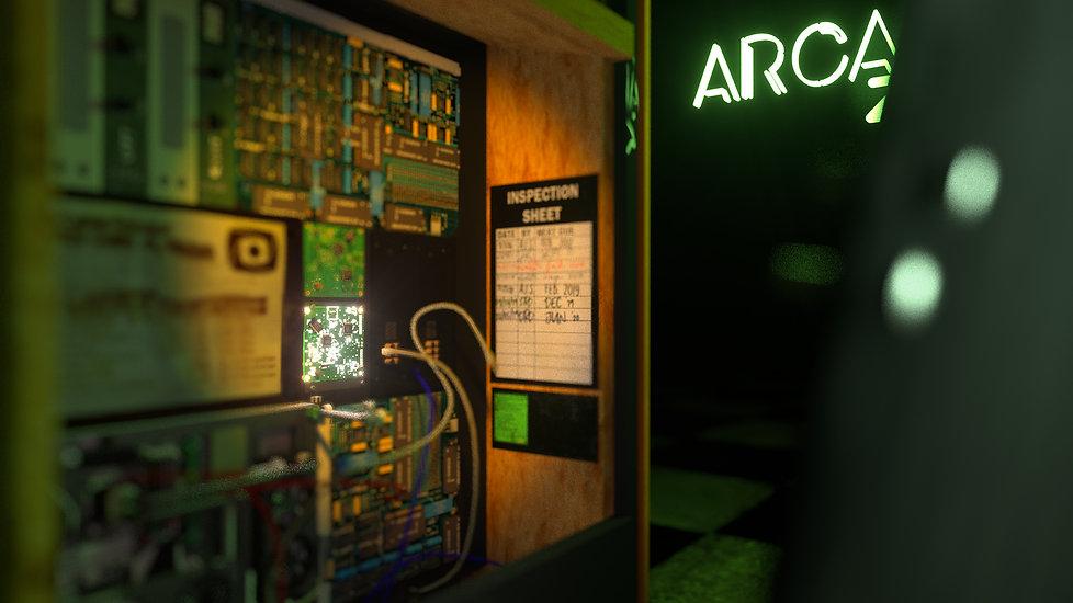 More clues behind the arcade's machine