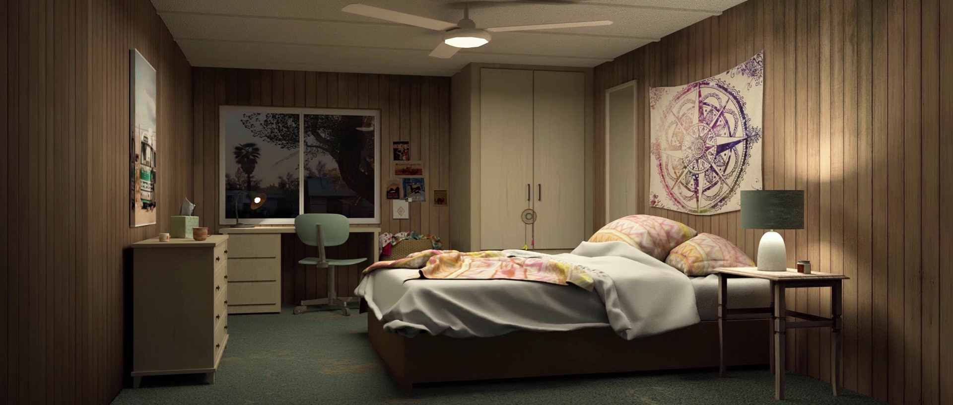 Eileen Taylor's Bedroom
