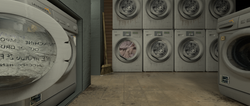The washers and Dryers