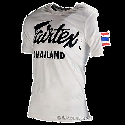 FAIRTEX THAILAND T-Shirt TST56 –  Blanc