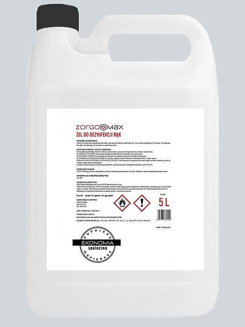 ZorgoMax żel antybakteryjny 5l