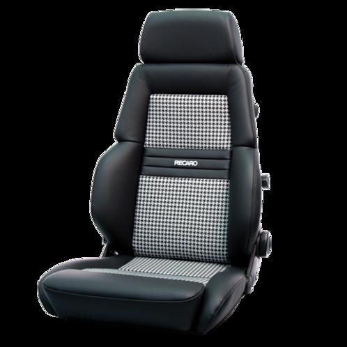 RECARO EXPERT HOUNDSTOOTH SEATS SET | LEATHER | PAIR