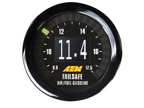 AEM ELECTRONICS UNIVERSAL WIDEBAND FAILSAFE GAUGE | A/F AND MANIFOLD PRESSURE