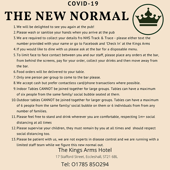 COVID 19 The New Normal kings FB.png
