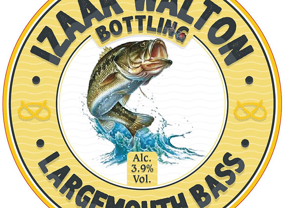 **LOCALLY BREWED** LARGEMOUTH BASS