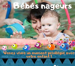 Bébés nageurs Evry, Bébés nageurs Essonne 91, SCA 2000 Evry