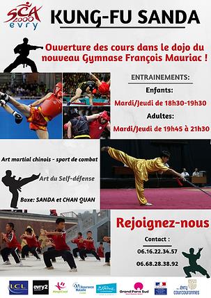 Kung-fu Evry, Cours de kung-fu Wushu à Evry 91 , Kung-Fu Evry Courcouronnes