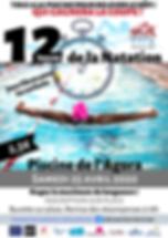 12h de Natation Evry, 12h de Natation piscine de l'Agora