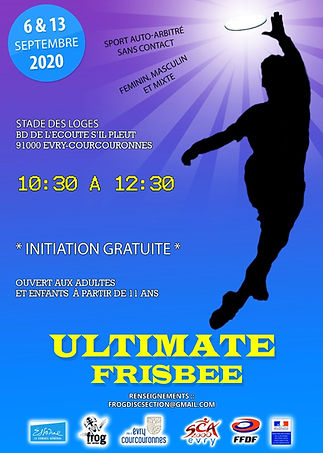 Ultimate Evry 91, Frisbee Evry Courcouronnes