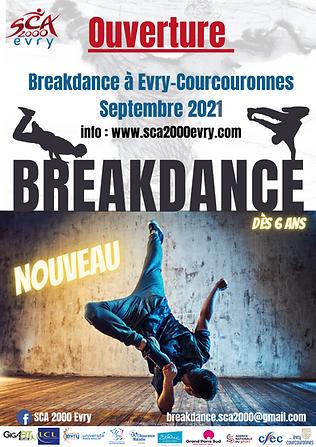 Breakdance Evry, Danse Evry Courcouronnes, cours de break evry 91