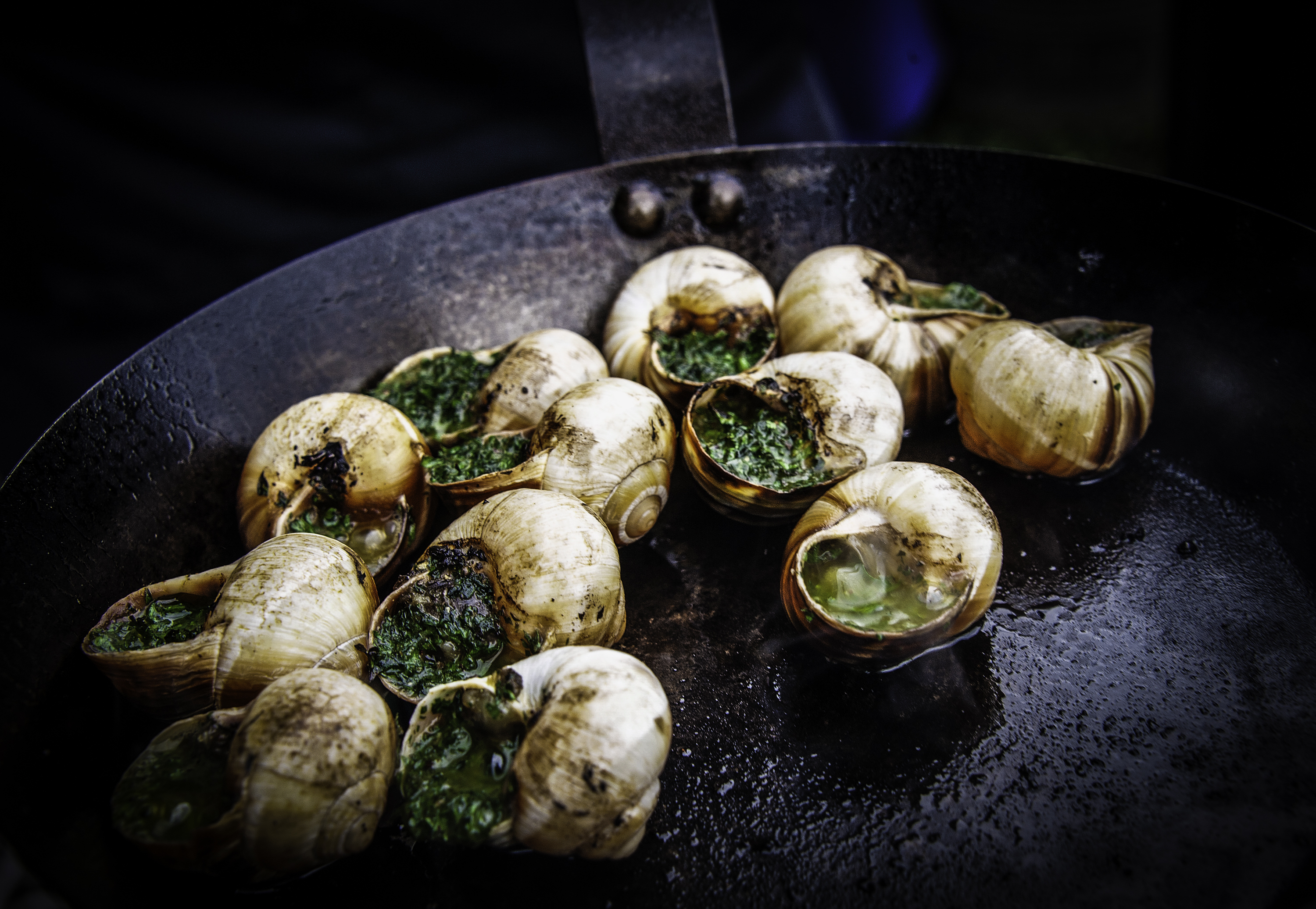 Dorset Snails - food photography