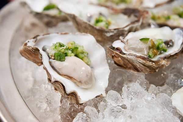 Oysters - food photography Poole