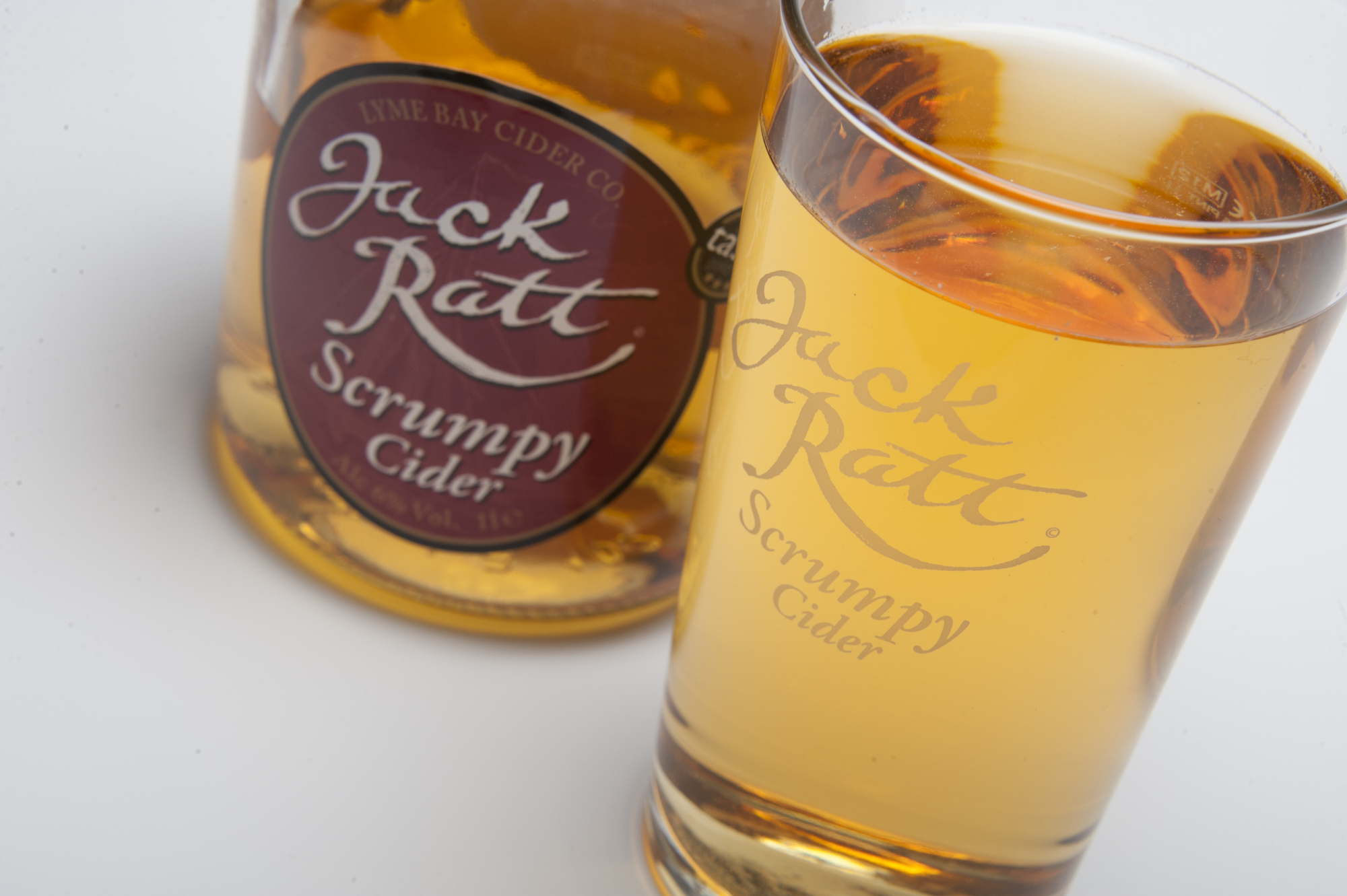 Jack Ratt Cider Product Photography