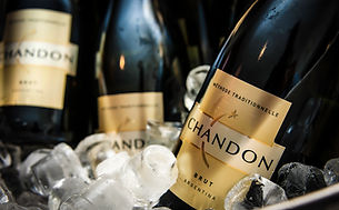 Commecial photograph of Chandon Champagne