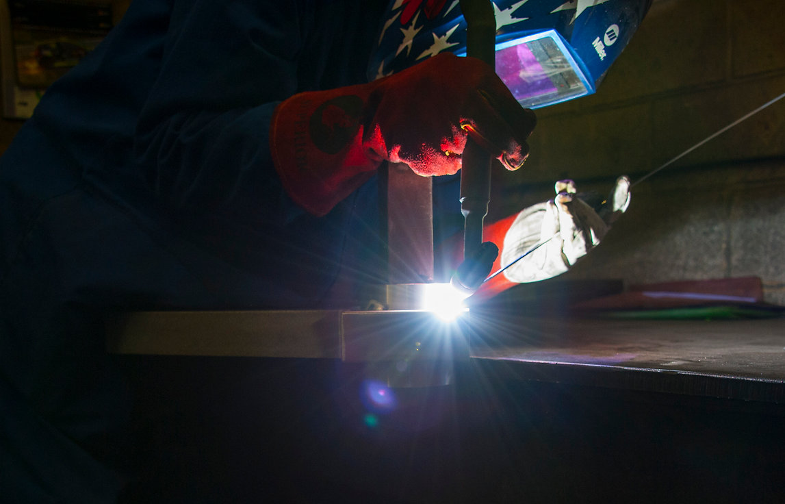 Commercial Photography - welding
