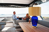 product photography - lamp on a boat