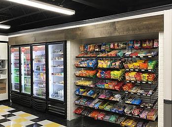 Subway Tile Cooler Surround Area Treatme
