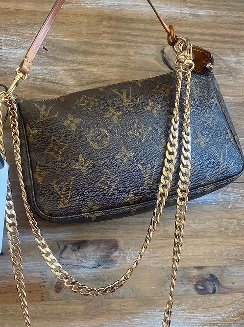 Louis Vuitton Pochette With Chain