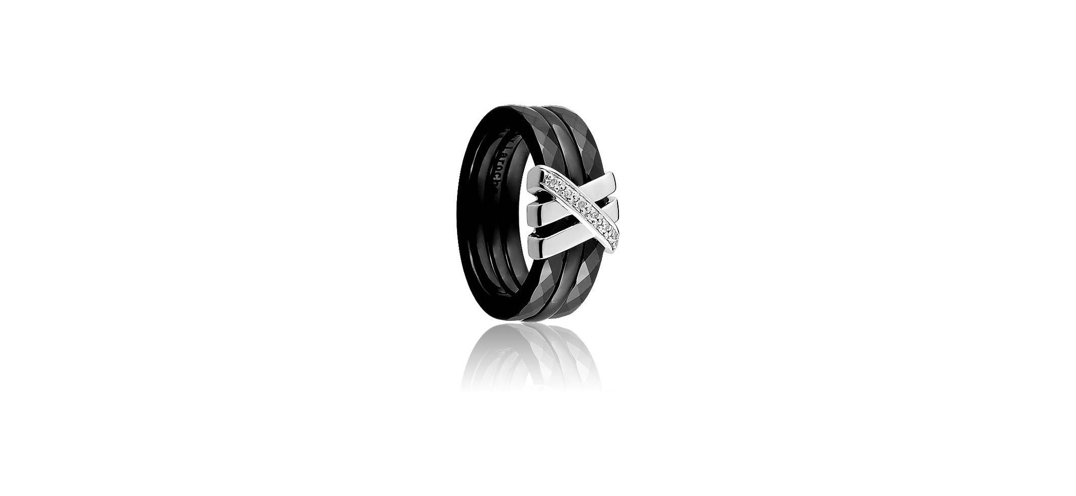 bague-enlacement-noir-guy-laroche-ceramique-or-diamants