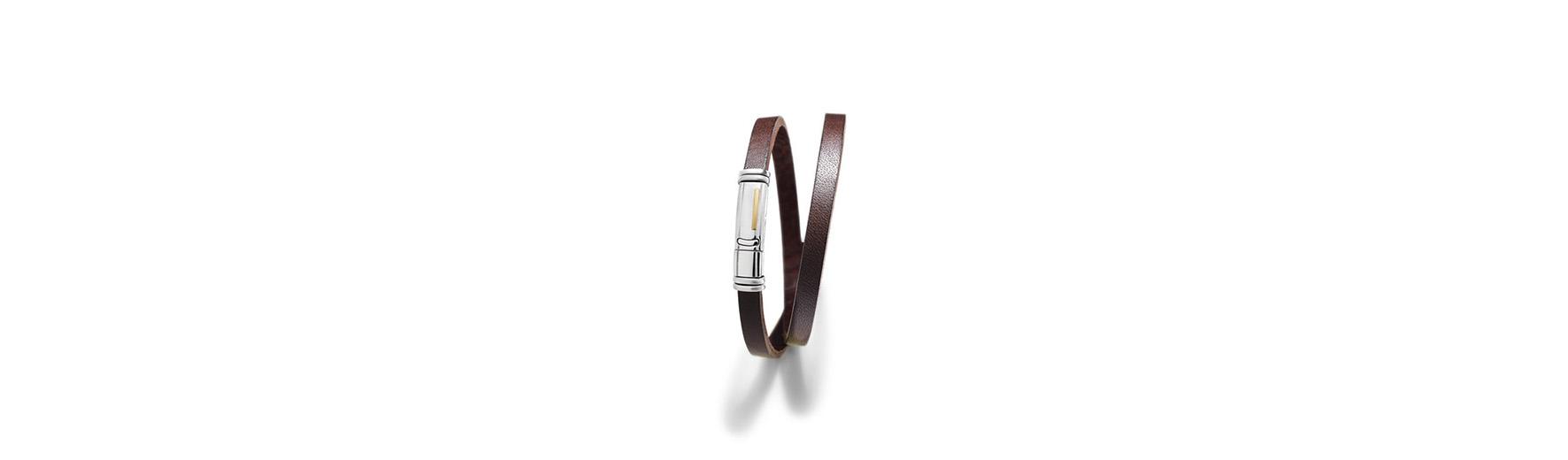 bijoux homme bracelet cuir charles jourdan