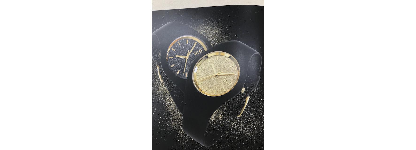 montre noire femme ice watch