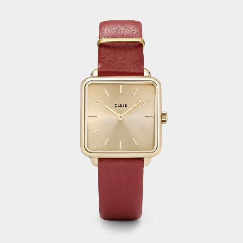 montre-cluse-la-garconne-gold-scarlet-re