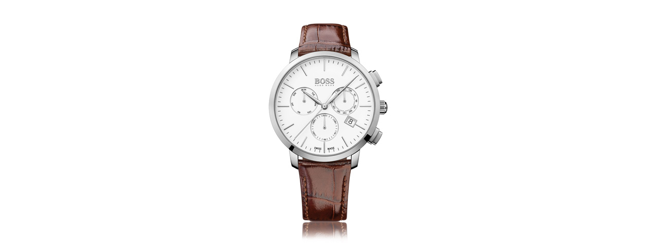 MONTRE CUIR HUGO BOSS