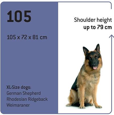 Maelson 105cm Soft Kennel