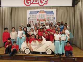 Fifth graders present Grease