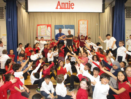 Fourth graders presents Annie the Musical