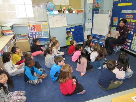 Mystery Reader in Kindergarten