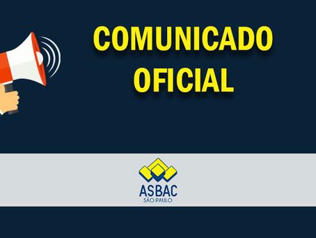 ASBAC São Paulo ficará fechada a partir do dia 06/03