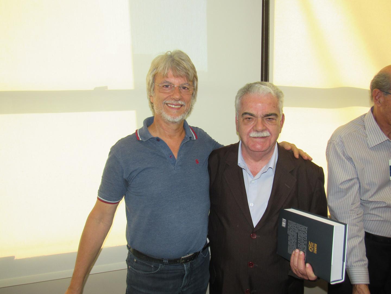Clóvis Naconecy e José Osório