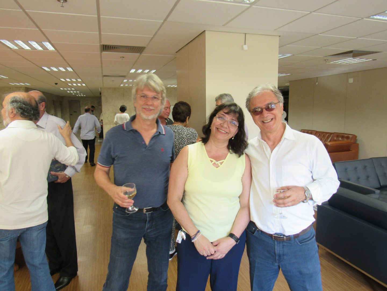 Clóvis, Ana Maria e Luiz Tadeu