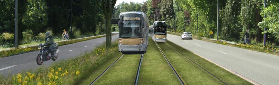 Brusselse groenen willen 7 nieuwe tramlijnen