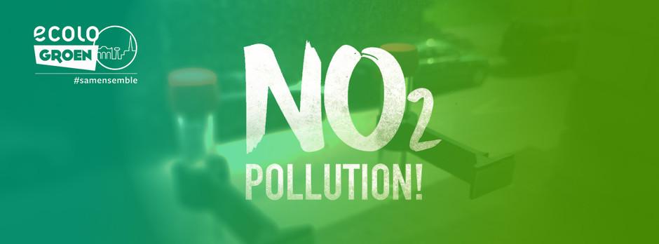 Groenen meten de luchtkwaliteit : resultaten van NO2Pollution actie