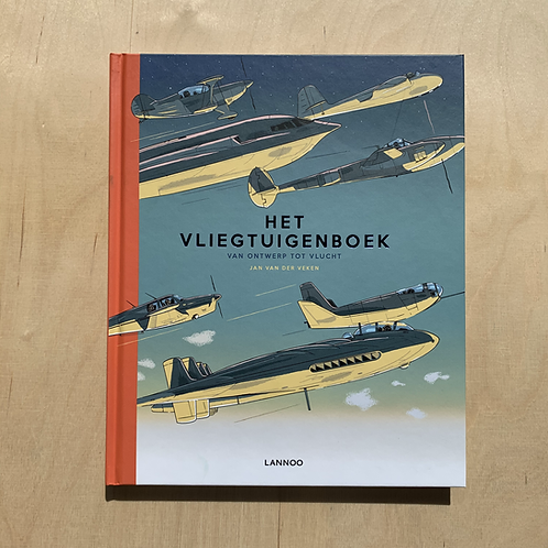 Vliegtuigboek - Jan Van der Veken