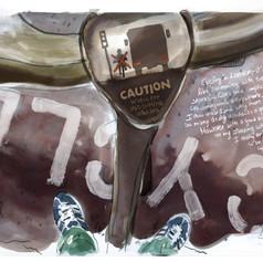 Reportage Illustration #4