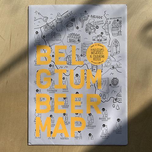 Belgium Beermap