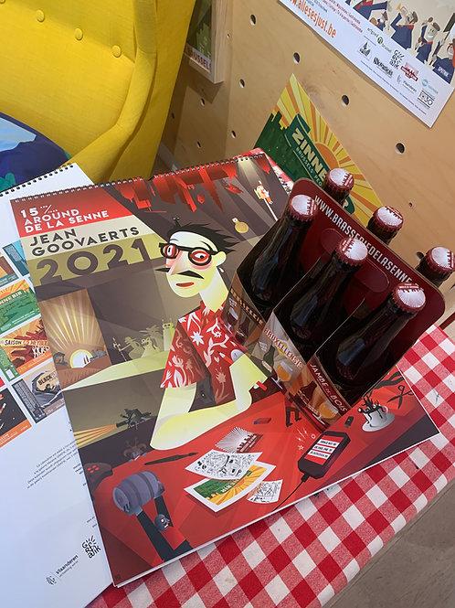 Pack - Expo Beerlabels Jean Goovaerts (beers+calendar)
