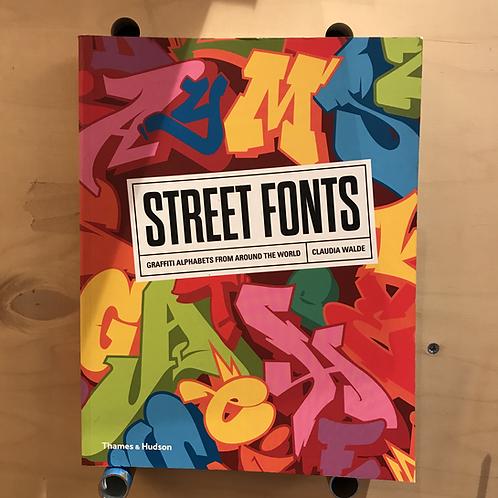 Street Fonts - Thames & Hudson