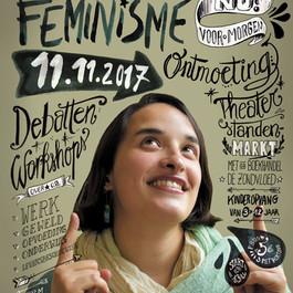 Affiche nationale vrouwendag 2017