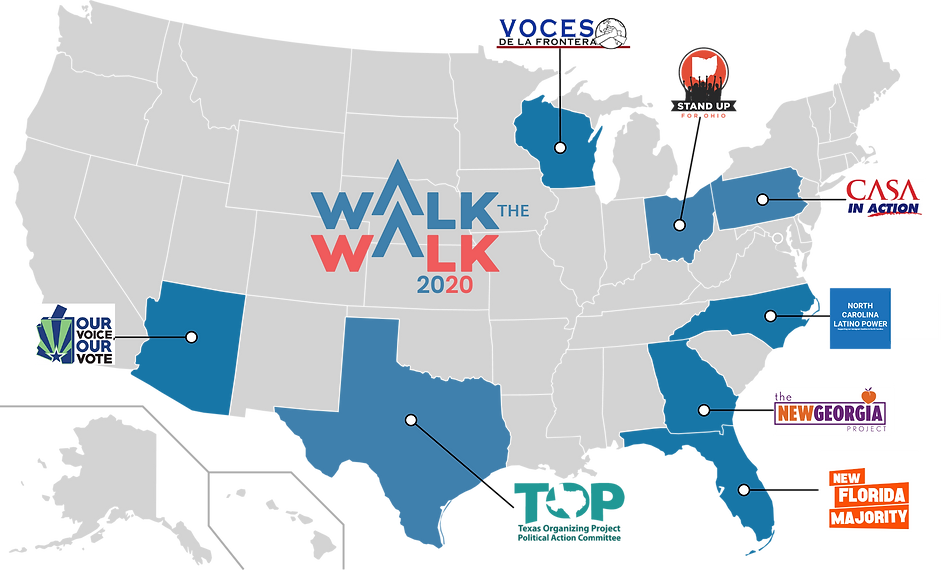 Walk the Walk 2020 Partner Organizations