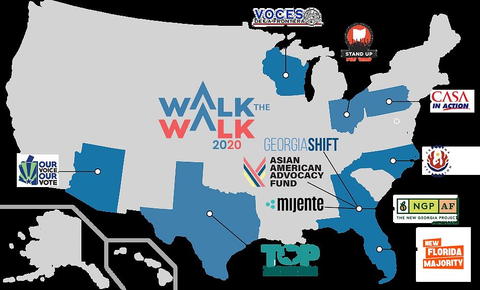 Walk the Walk 2020 Partner Organizations