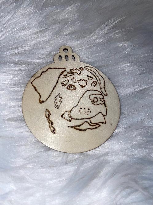 Rotti Wood Ornament