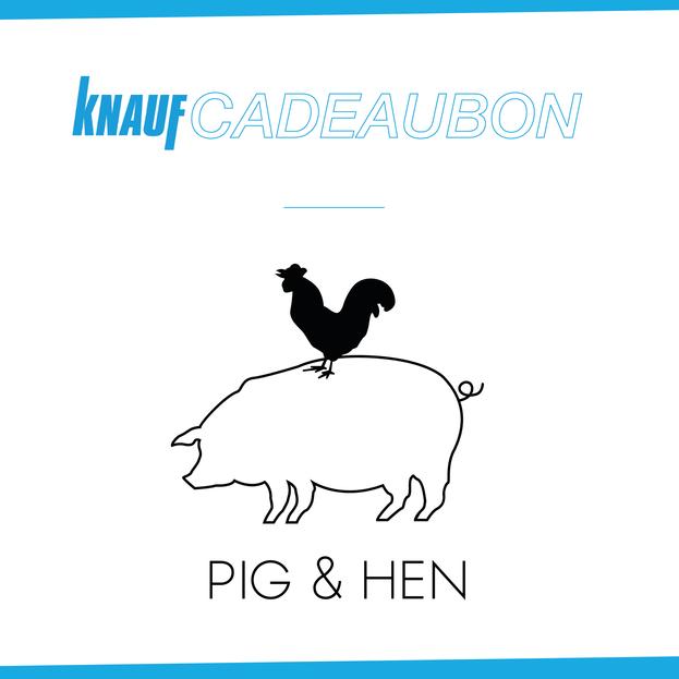 Cadeaubon - Pig&Hen